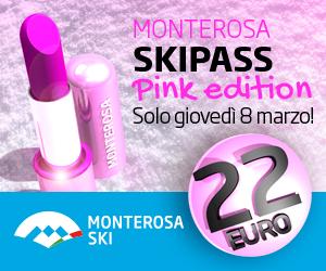 Monterosa PINK EDITION: clicca e scia