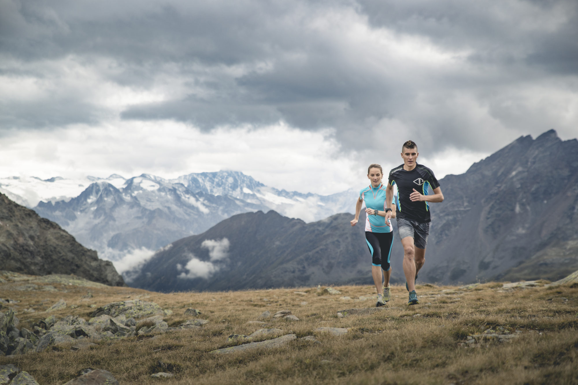 Crazy Idea running e mountain