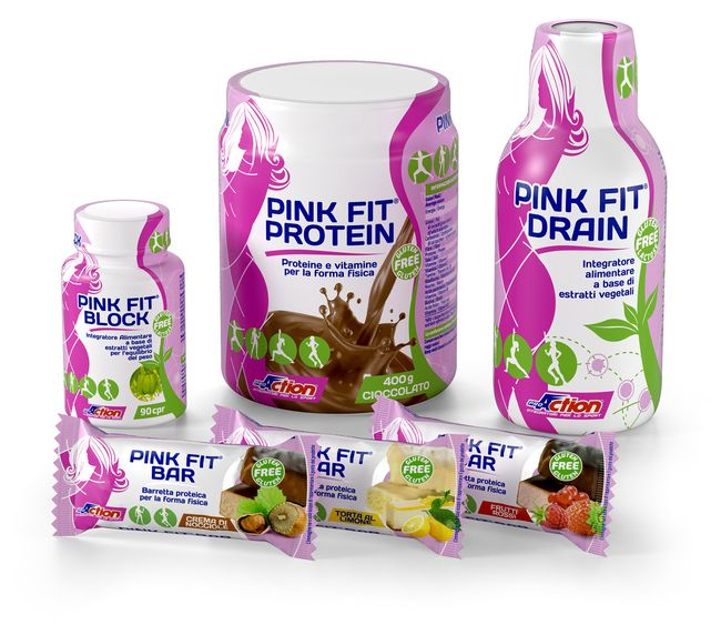 Pink Fit Dynamic: ferro+magnesio+vitamina C