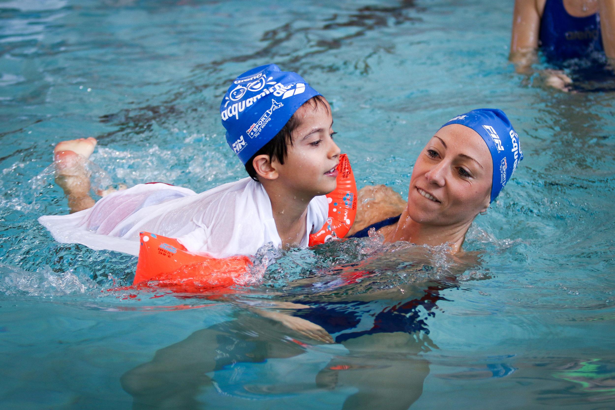 arena acquamica per avvicinare allo sport i più piccoli