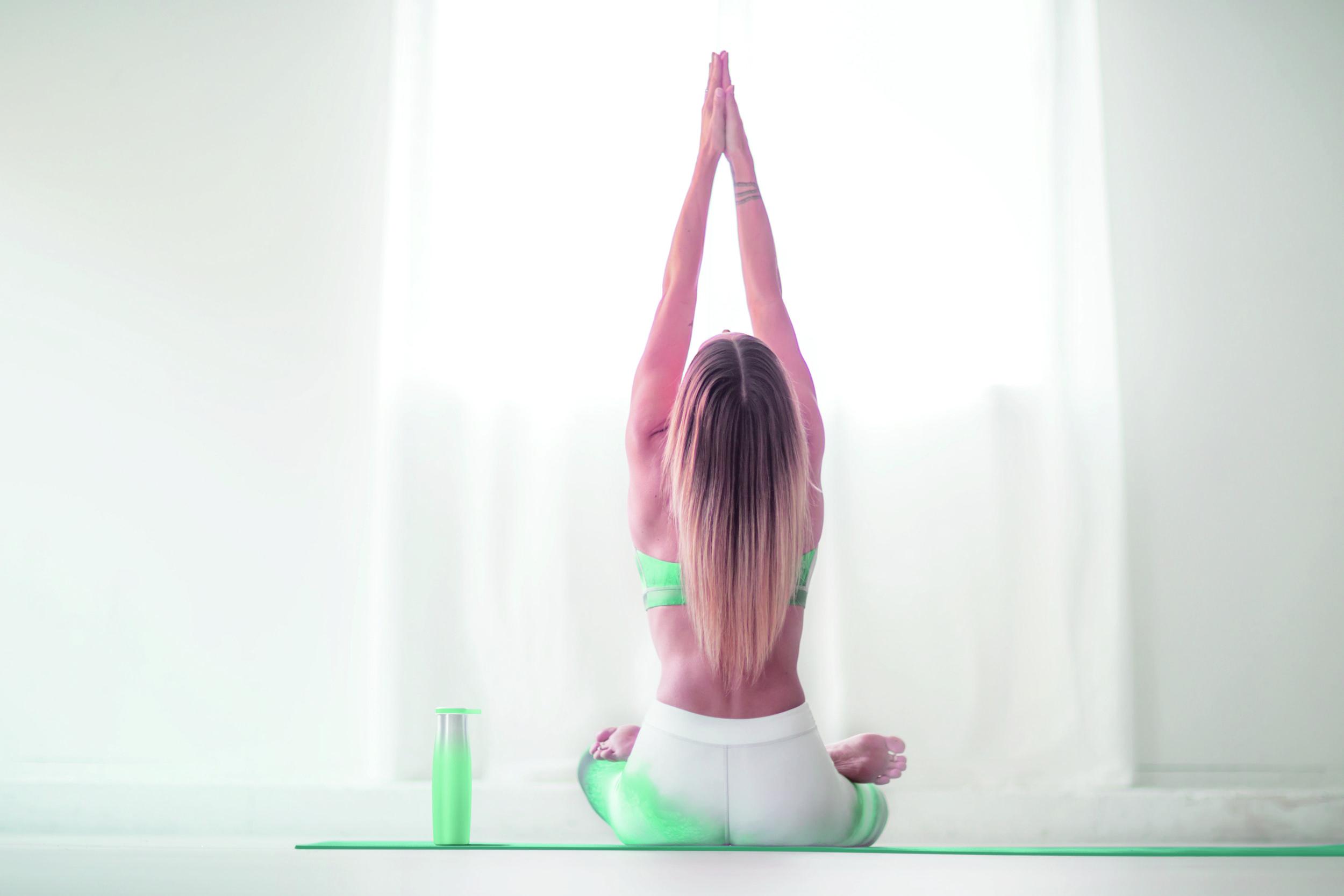 Camelbak nel mondo dello yoga