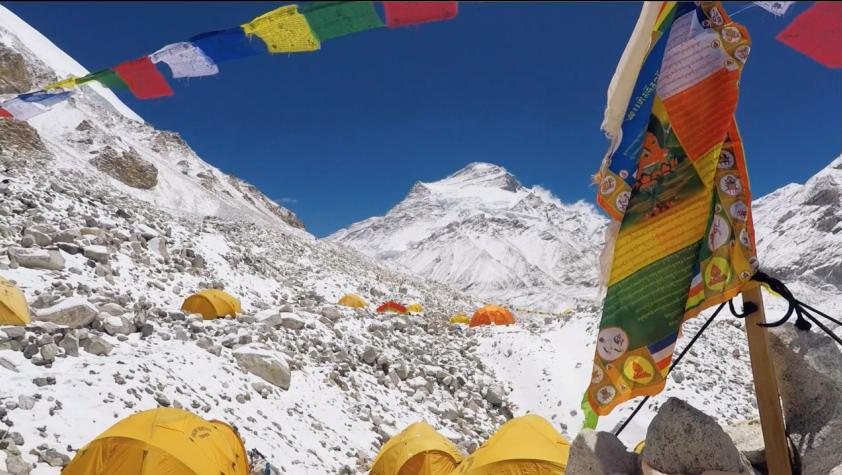 Forsberg con Kilian sull'Himalaya