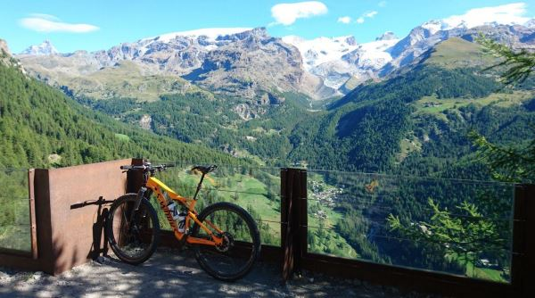 Monterosa Prestige: mtb in quota