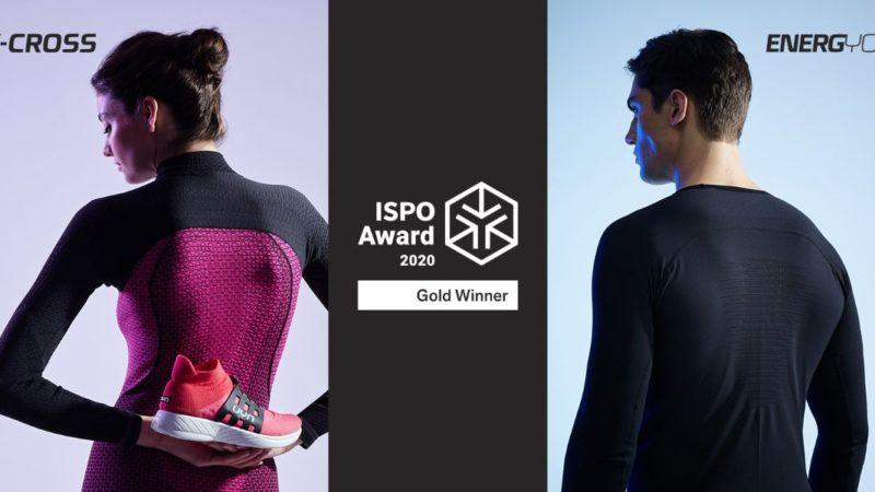 ISPO news: UYN vince il Gold Award con le scarpe X-Cross e l'intimo Energyon
