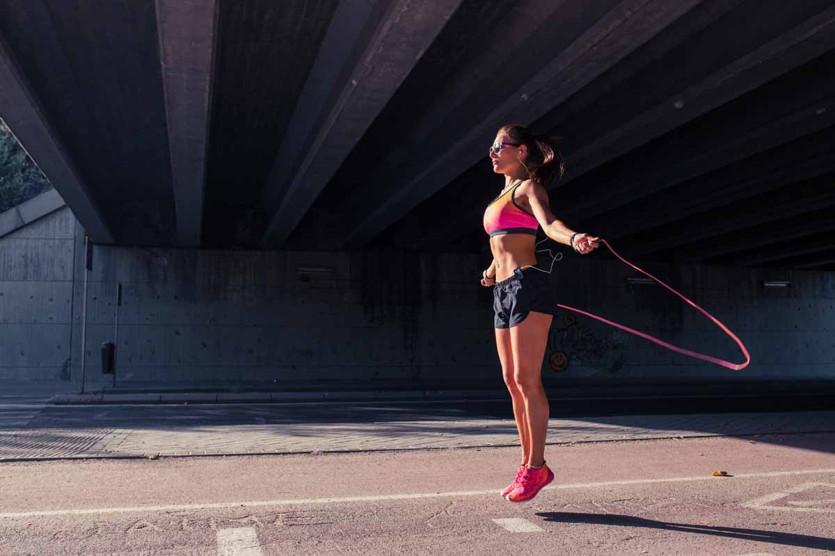 Training: salto della corda un classico da fare sempre