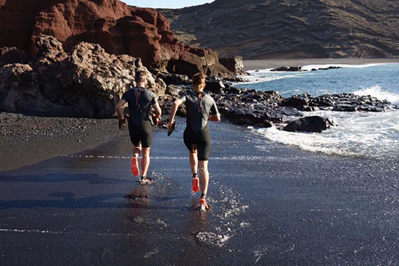 Michelin + Vivobarefoot = Tempest for swimrun