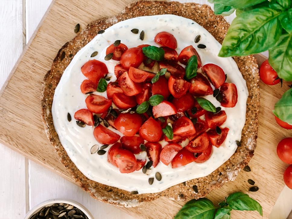 Gallette salata vegana