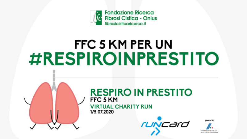 """Respiro in prestito"" 5 KM Virtual Charity Run"