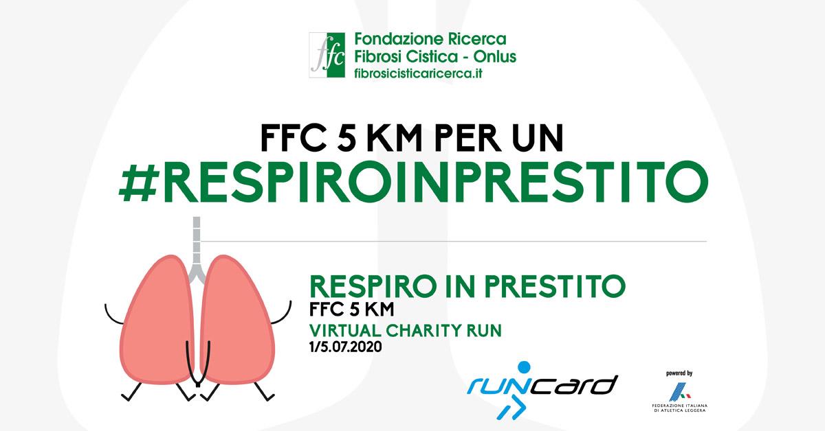 """""""Respiro in prestito"""" 5 KM Virtual Charity Run"""