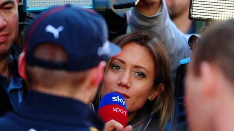 Mara Sangiorgio: volto della Formula 1